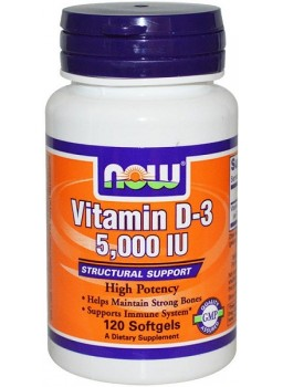 NOW Vitamin D-3 5000