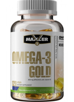 Maxler Omega -3 Gold with vitamin E