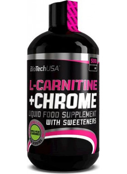 BioTech USA L-Carnitine+Chrome