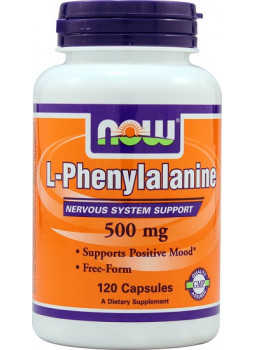 NOW L-Phenylalanine 500 мг