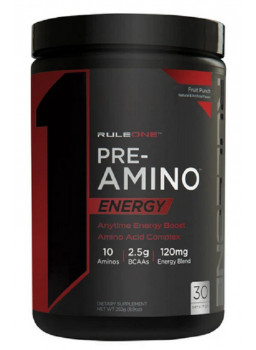 Rule One Proteins Pre Amino