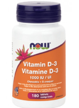NOW Vitamin D-3 1000